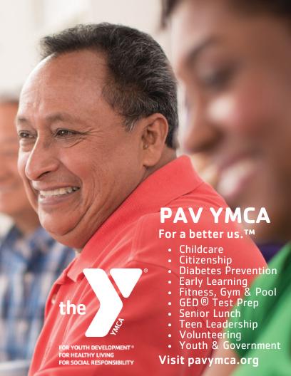 Pav YMCA 2017 Issue 1 Berwyn Magazine English